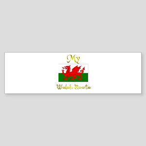 Best Welsh Design. Bumper Sticker