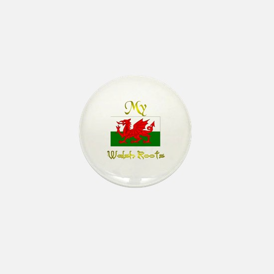Best Welsh Design. Mini Button