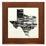 Real Texas Framed Tile