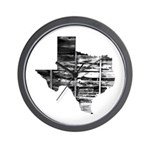 Real Texas Wall Clock