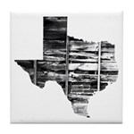 Real Texas Tile Coaster