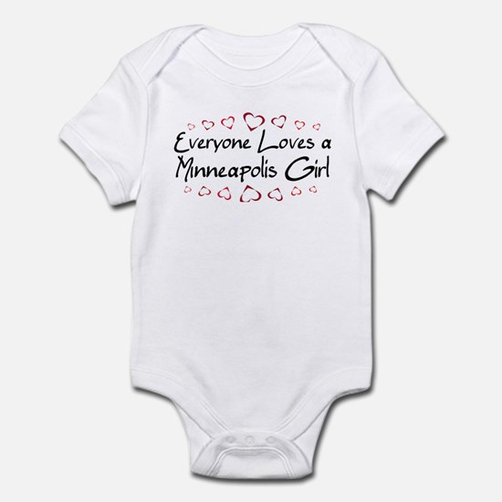 Minneapolis Girl Infant Bodysuit