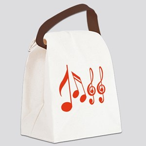 Jazz (Musical Notation) Canvas Lunch Bag
