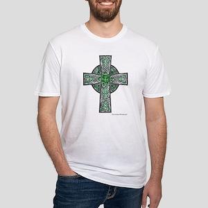 Traditional Celtic Cross Green T-Shirt