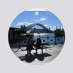 Sydney Harbour Ornament (Round)