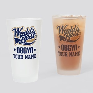 OBGYN Personalized Gift Drinking Glass