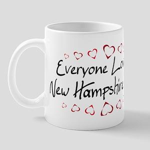 New Hampshire Girl Mug