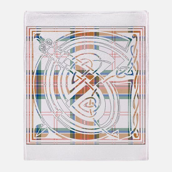 Monogram - Grant of Auchnarrow Throw Blanket
