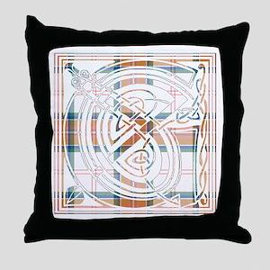 Monogram - Grant of Auchnarrow Throw Pillow