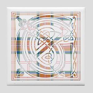 Monogram - Grant of Auchnarrow Tile Coaster