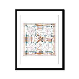 Monogram - Grant of Auchnarrow Framed Panel Print