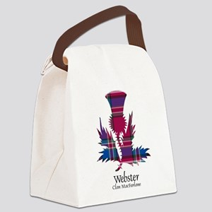 Thistle-Webster.MacFarlane Canvas Lunch Bag
