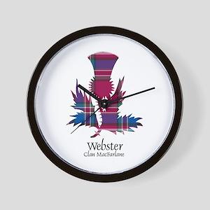 Thistle-Webster.MacFarlane Wall Clock