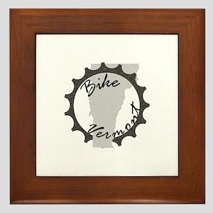 Bike Vermont Framed Tile