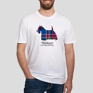 Terrier-Webster.MacFarlane Fitted T-Shirt