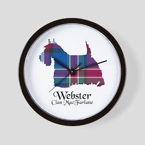 Terrier-Webster.MacFarlane Wall Clock