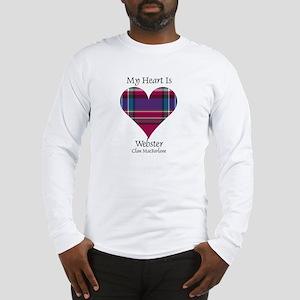 Heart-Webster.MacFarlane Long Sleeve T-Shirt