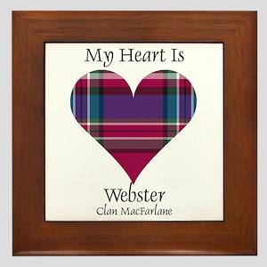 Heart-Webster.MacFarlane Framed Tile