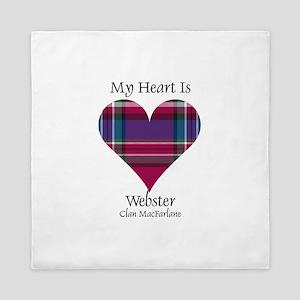 Heart-Webster.MacFarlane Queen Duvet
