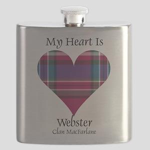 Heart-Webster.MacFarlane Flask