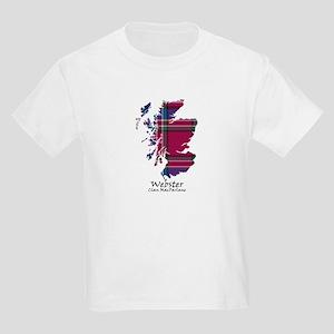 Map-Webster.MacFarlane Kids Light T-Shirt