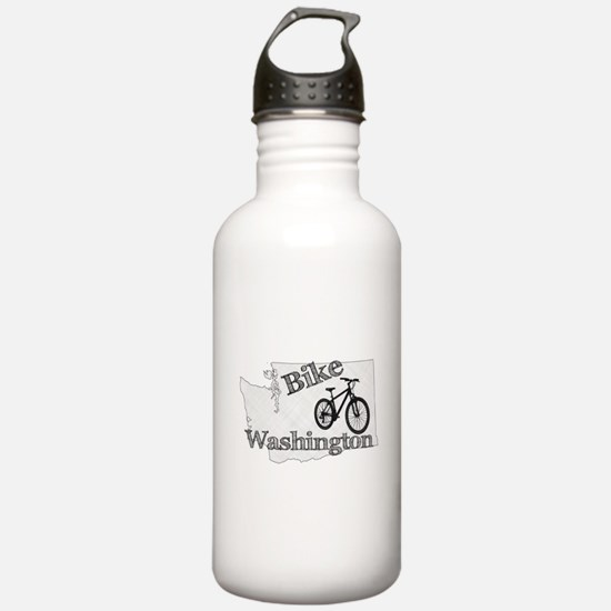 Bike Washington Water Bottle
