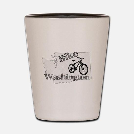 Bike Washington Shot Glass