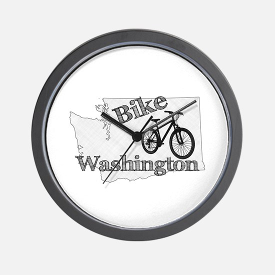 Bike Washington Wall Clock