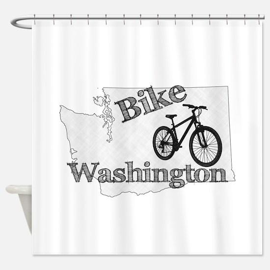 Bike Washington Shower Curtain