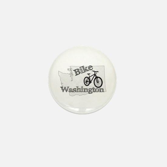 Bike Washington Mini Button