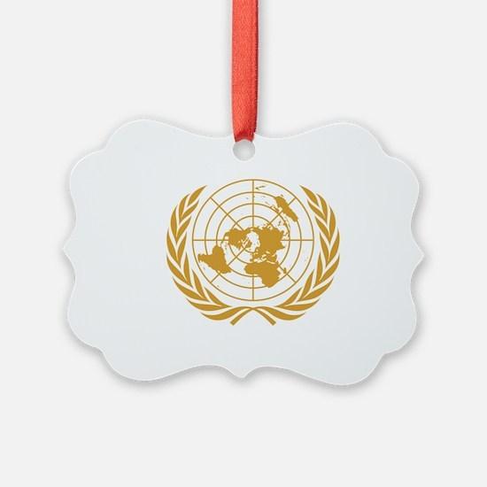 Cute Peace flag Ornament