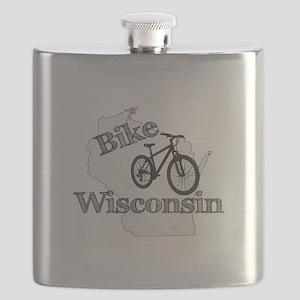 Bike Wisconsin Flask