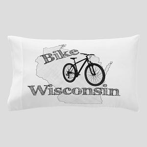 Bike Wisconsin Pillow Case