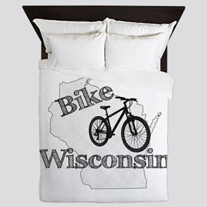 Bike Wisconsin Queen Duvet
