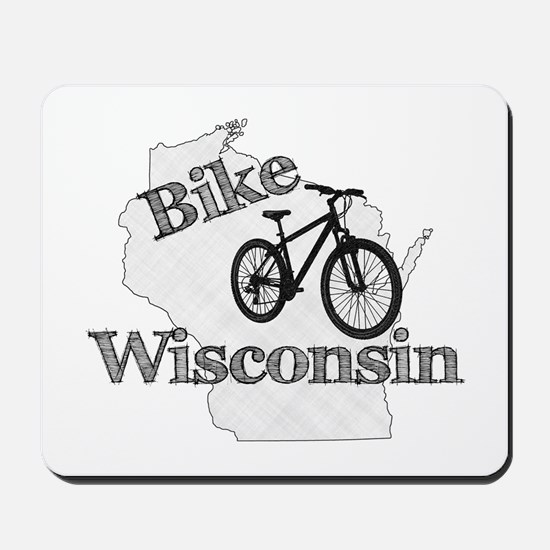 Bike Wisconsin Mousepad