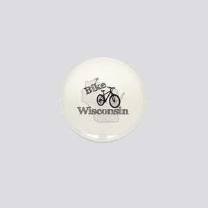 Bike Wisconsin Mini Button
