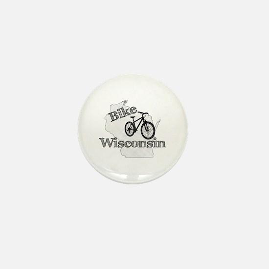 Bike Wisconsin Mini Button