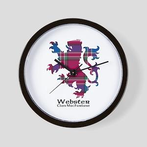 Lion-Webster.MacFarlane Wall Clock