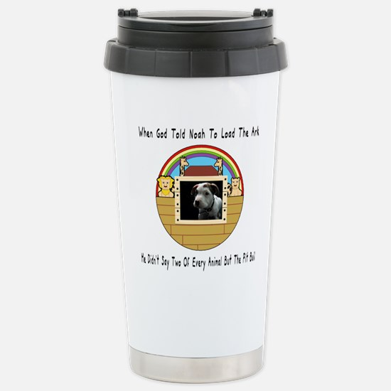 But The Pit Bull Travel Mug