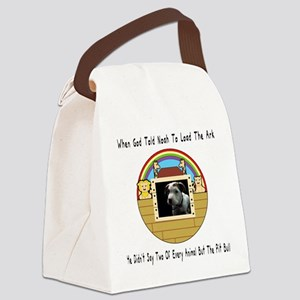 But The Pit Bull Canvas Lunch Bag