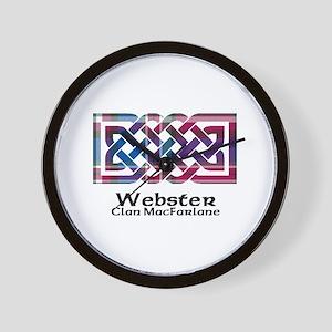 Knot-Webster.MacFarlane Wall Clock