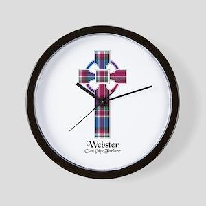 Cross-Webster.MacFarlane Wall Clock