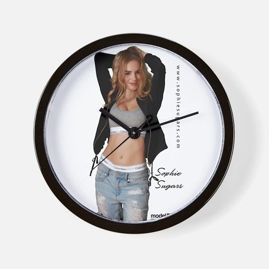 Sophie Sugars Wall Clock