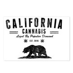 California Cannabis Postcards (Package of 8)