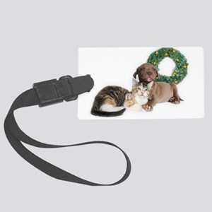 Ring in the new year with shelter pets Luggage Tag