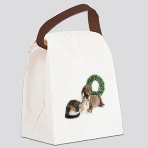 Ring in the new year with shelter pets Canvas Lunc