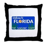 Welcome to Florida Throw Pillow