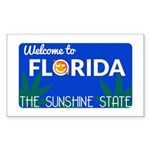 Welcome to Florida Sticker