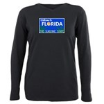 Welcome to Florida Plus Size Long Sleeve Tee