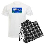 Welcome to Florida Men's Light Pajamas